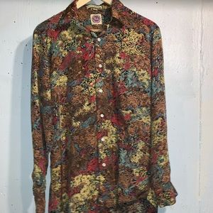 Vintage Saks Fifth Ave Button Up